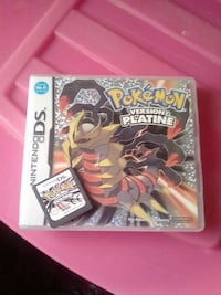 jeu Nintendo DS Pokemon Version Platine