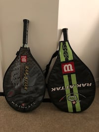 2 children's tennis rackets (Wilson) Arlington, 22201