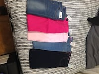 5 pair brand new jeans lil girls jeans size 10 Miami Gardens, 33056