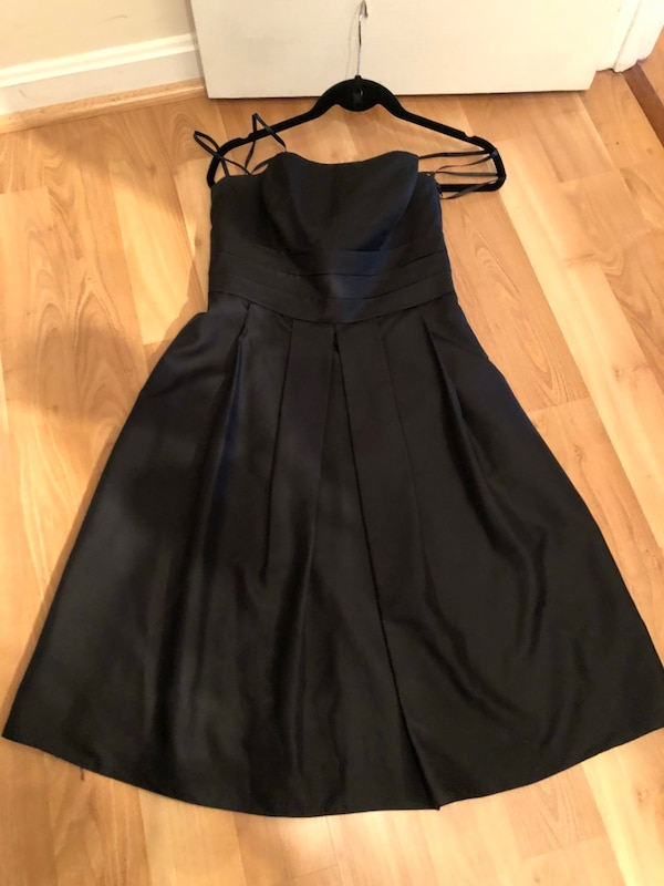 Ann Taylor Black silk dress -size 4 fa2e8215-b0a8-4521-b66e-b8300e3fadd3