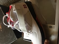 white and black Air Jordan basketball shoe Germantown, 20874
