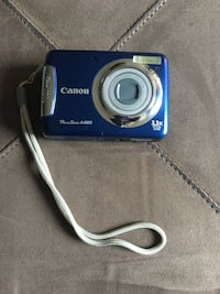 Canon PowerShot A480 Digital Camera.