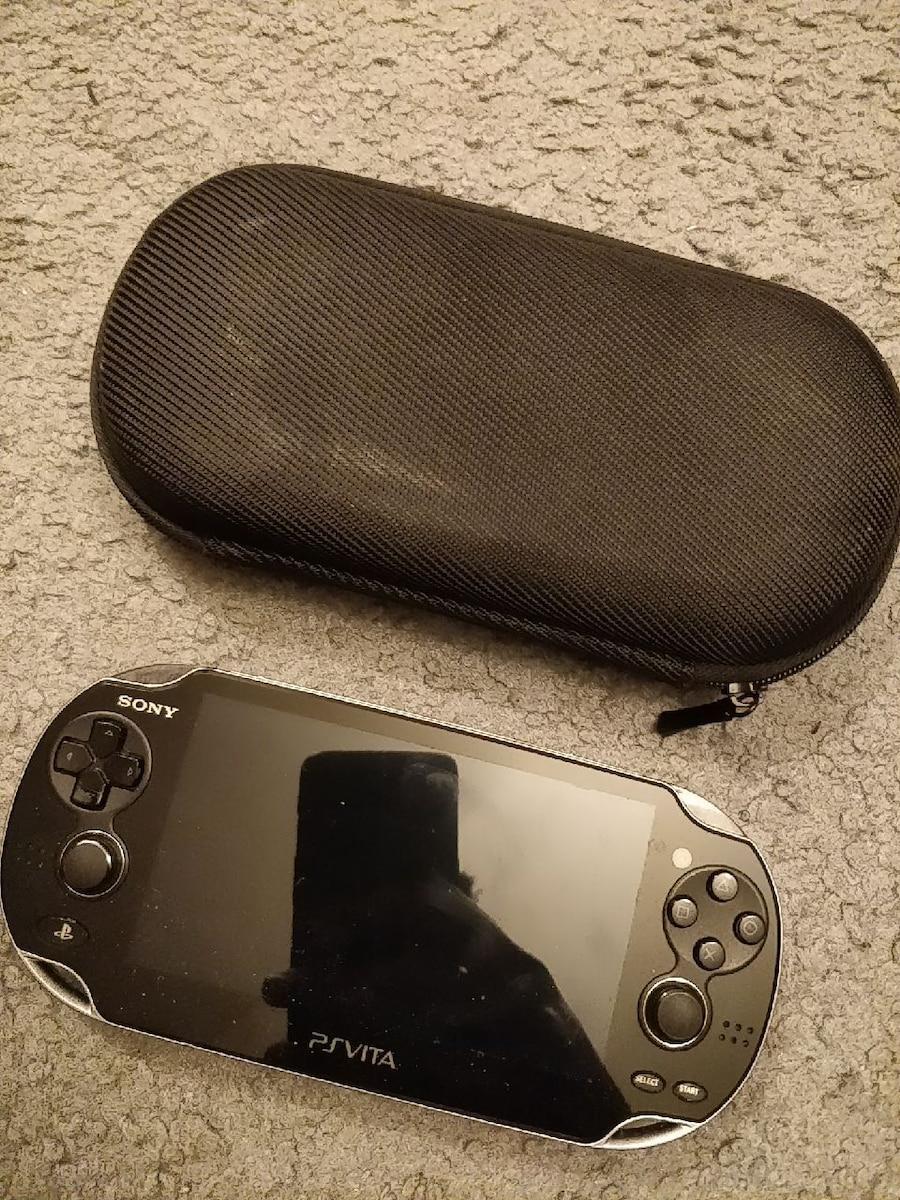 Used, black Sony PS Vita handheld game console for sale  Montréal