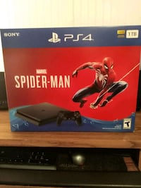 New PS4 Spider-Man bundle 1tb Mannington, 26582