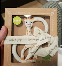 Sophi La Girafe Teething Ring Soft Version Vaughan