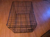 black metal folding dog crate Portland, 97266
