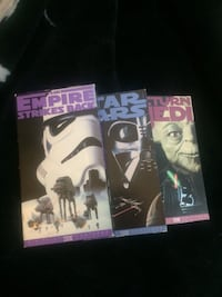 Star Wars vhs movies Edmonton, T6E 0R2