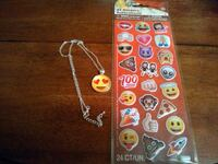 Emoji Necklace/Sticker Combo Hopewell Junction, 12533