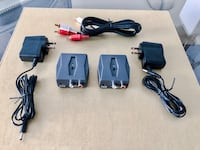 Wireless Audio Transmitter/Receiver for Subwoofers and Surround Speakers New Brunswick, 08901