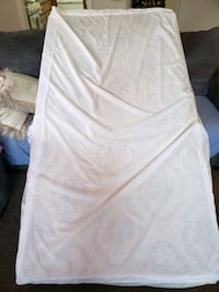 Twin mattress with cover