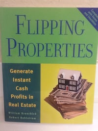 FLIPPING PROPERTIES Book - Real Estate Houses Business Money Las Vegas, 89119
