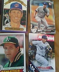 baseball player trading card collection Lancaster, 93536