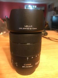 Canon 18-135mm Kit Lens, ive upgraded and no longer use this lense. Flawless condition with lens hood.  Knoxville, 21758