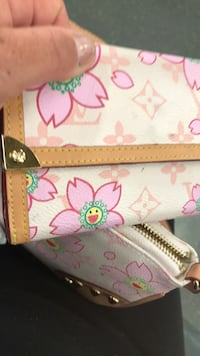 pink and white floral leather wallet South San Francisco, 94080