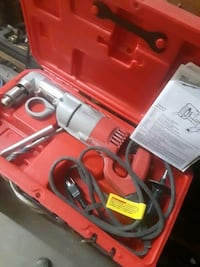 Milwaukee 1/2 inch. Corded right angle drill Wayland, 01778