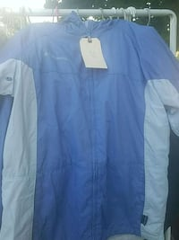 Columbia windbreaker jacket. Size m