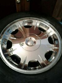 4       17in tires on rims