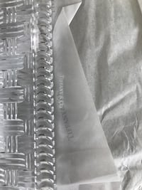 Tiffany and Company Woven Crystal Plate 8 inch Madison Heights, 48071