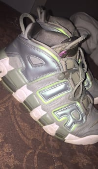 pair of brown-and-black hiking boots 34 mi