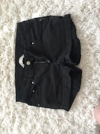 black button-up short shorts Lacey, 98503