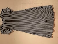 Black and white striped dress New York, 11232