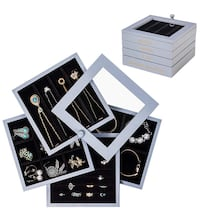 Jewelry Box with Multi-Function Four Layers