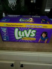 88 count Size 4 Luvs Diapers  Huntersville, 28078