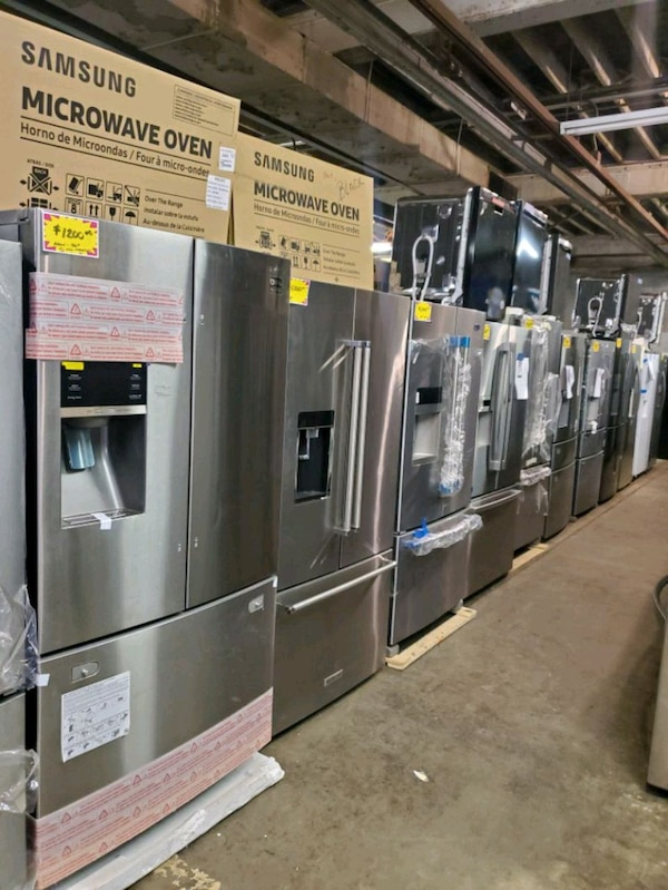 New  French Door fridge stainless Steel with warrant from $1000 and up 085dd687-6f7c-4bb9-8116-3160ccd9ca05