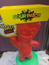 Rare Sour Patch Kids 4' display