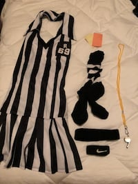 Sexy Ref costume M/L and extras - leg avenue - halloween womens Vienna, 22180