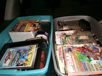2500 to 3000 comics and figurines Crooksville, 43731