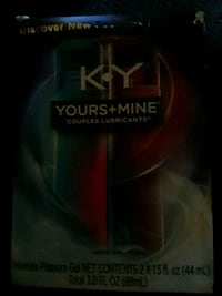 KY lube yours and mine Portland, 97206