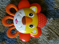 Nuby lion vibrating teether  Mississauga, L5M 5A1