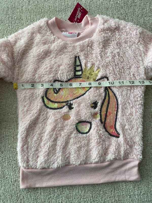Extremely me Toddlers Girls Pink Plush Sweatshirt Sz 4T a249232f-e955-48cc-a868-54a649129f36