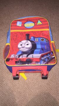 Thomas the train printed trolley backpack