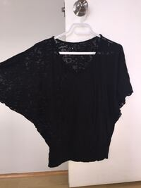 women's black blouse Laval, H7K 0B4