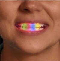 FLASHING MULTI-COLOR LED LIGHT UP MOUTH PIECE    GREAT FOR 4TH OF JULY Bellflower, 90706