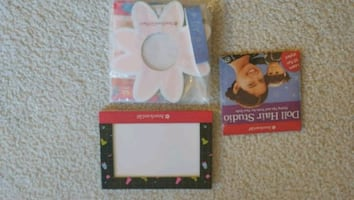 American Girl Picture PhotoFrames\CD Hair Designs
