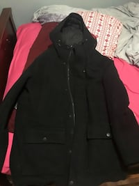 black and red zip-up jacket Calgary, T2K
