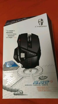 Mad catz rat 9 wireless Udine, 33100