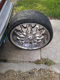 I have some 22inches rims I have all four of them two need tires I Montgomery, 36110