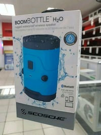 Cyber Monday Sale! Boom Bottle H2O,Rugged  Waterproof Wireless Speaker