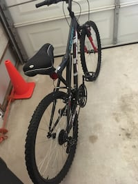 black and red hardtail mountain bike Belleview, 34420