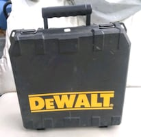 Full size DeWalt Power Tool Hard Case for Storage and Travel