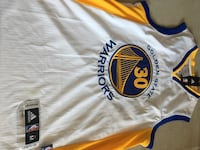 Tamaño M blanco y azul Golden State Warriors Camiseta de Stephen Curry Madrid, 28054