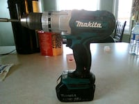 18v Makita cordless drill with battery and charger Sherwood Park, T8A 5N8