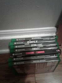 assorted Xbox One game cases Cambridge, N3H 3Z7