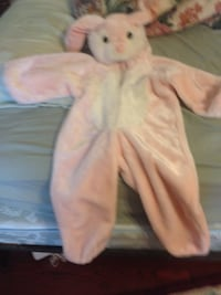 toddler's pink and white rabbit costume Vaughan, L4J 6N3