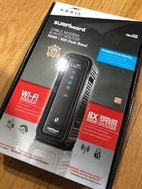 ARRIS Surfboard SBG6580-2 8x4 DOCSIS 3.0 Cable Modem/Dual Band Router Brand New still in box Capitol Heights, 20743
