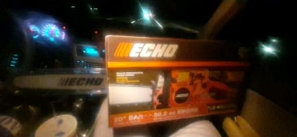 "Echo 20"" 50.8 cc chainsaw brand new sealed box!!"